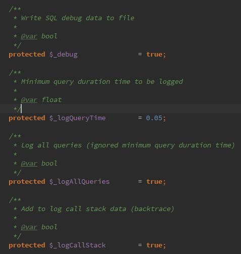 Logger toutes les requêtes SQL de Magento