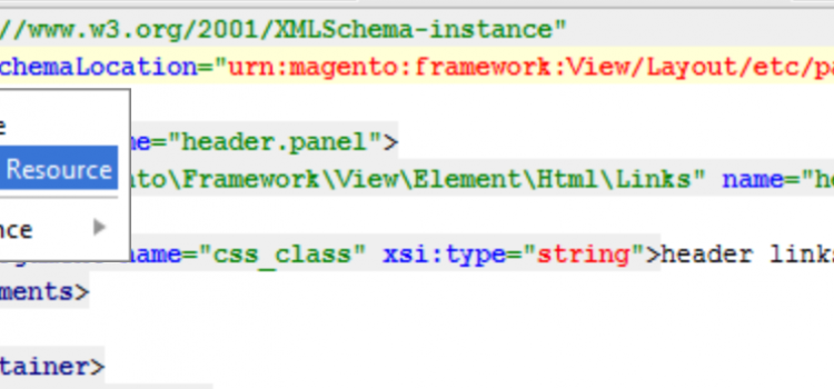 Xml Schema resolution in PHP Storm with Magento2 Urns