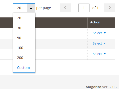 Add massactions and paging on adminhtml grid