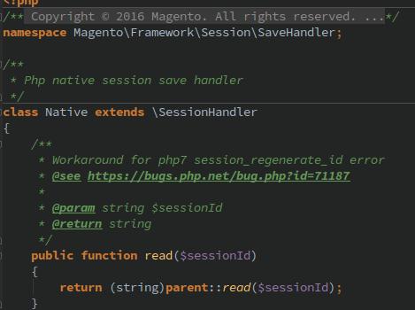 Les sessions et Magento 2